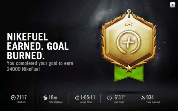 432f1f33341 Site NikePlus.com - meta de acumular 24000 pontos em 4 semanas atingida!!