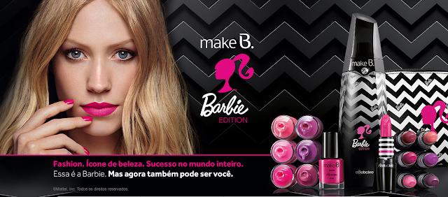 Coleção Make B. Barbie