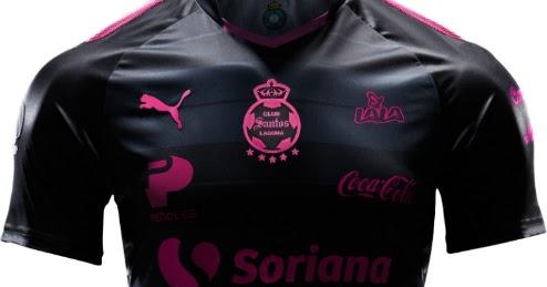 Santos Laguna participa da campanha do Outubro Rosa - Show de Camisas cae048db71b49