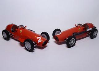 Ferrari 500 - Alberto Ascari Nino Farina - GP Germany British 1953 Forum Team