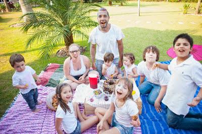 Ensaio Holi Powder com crianças