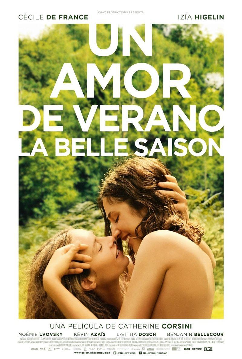 UN AMOR DE VERANO (La Belle Saison) cartel español