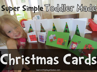 chistmas cards toddler
