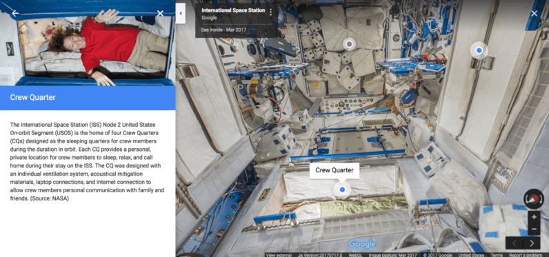 GOOGLE SPACE VIEW