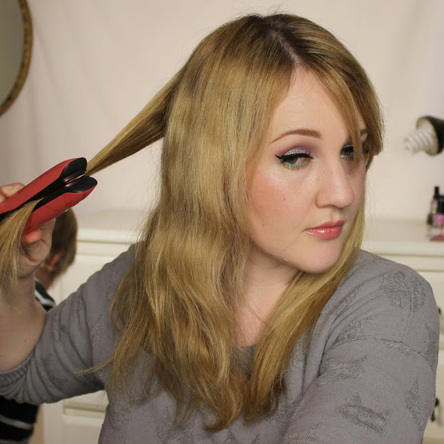 ghd Platinum Pink Blush Styler review