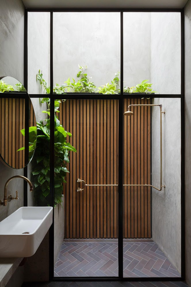 Japanese-window-wooden-outside-shower