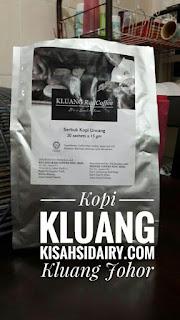 Bawa Balik Kopi Uncang dari Kluang Rail Coffee