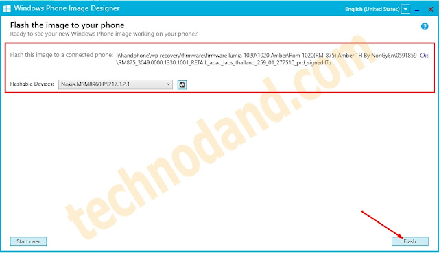 Cara Flash  Handphone Lumia