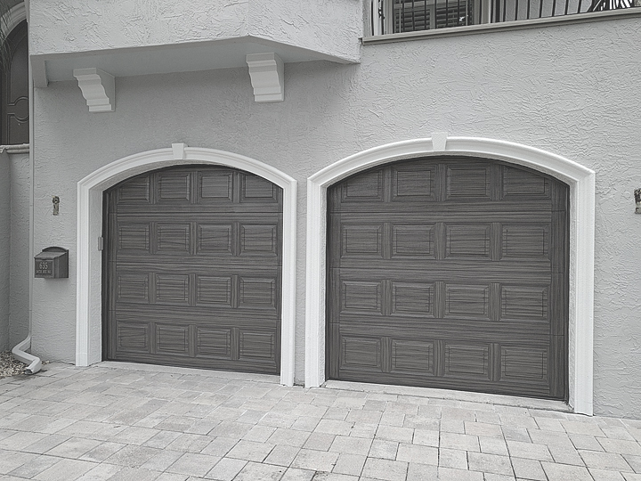 Everything I Create - Paint Garage Doors To Look Like Wood