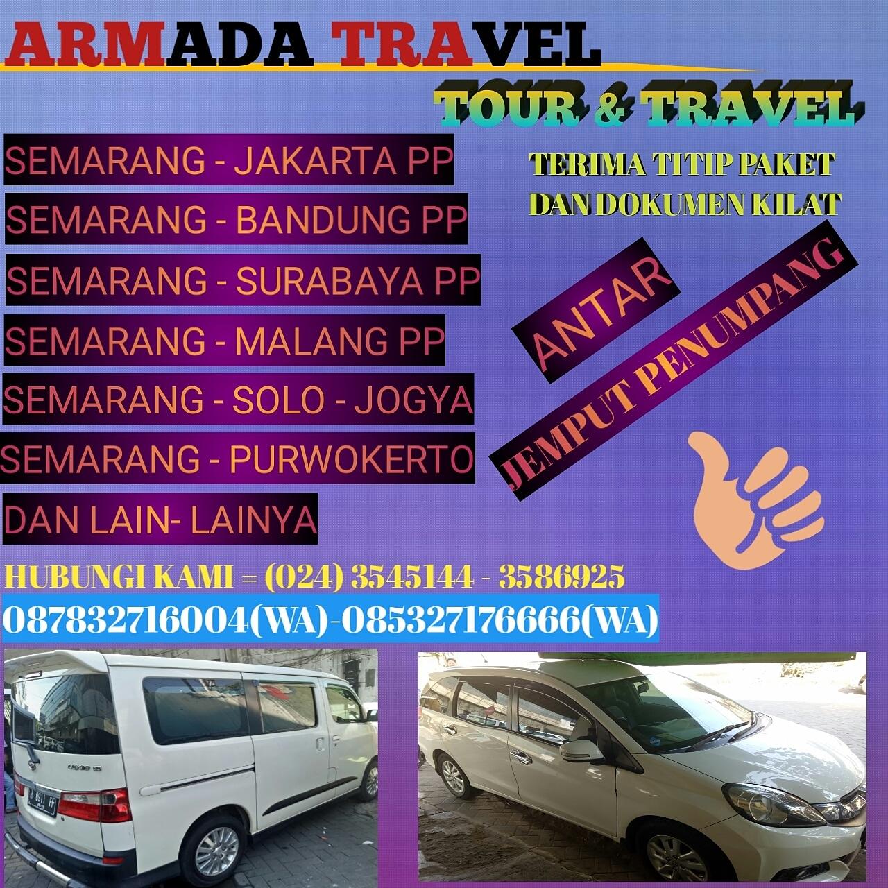Tour And Travel Jual Tiket Promo Jasa Antar Jemput: Travel Semarang Purwokerto
