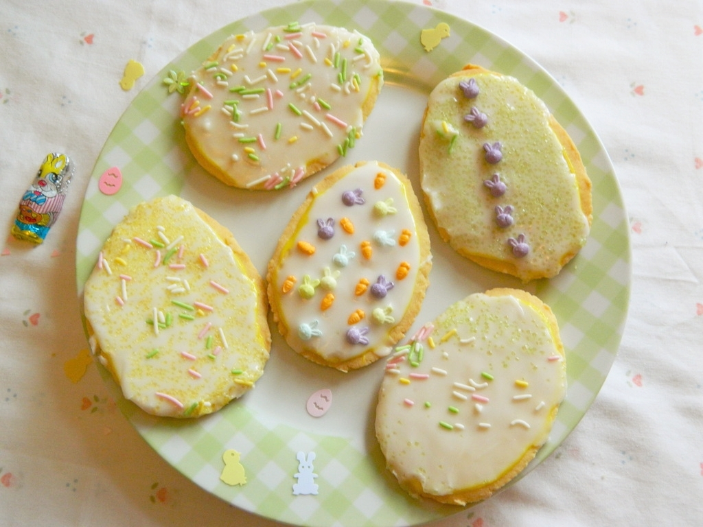 Easter Themed Baked Goods