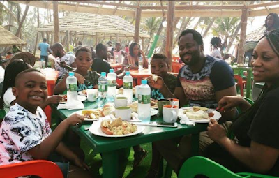 Hon Desmond Elliot shares beautiful photos with his family on Instagram