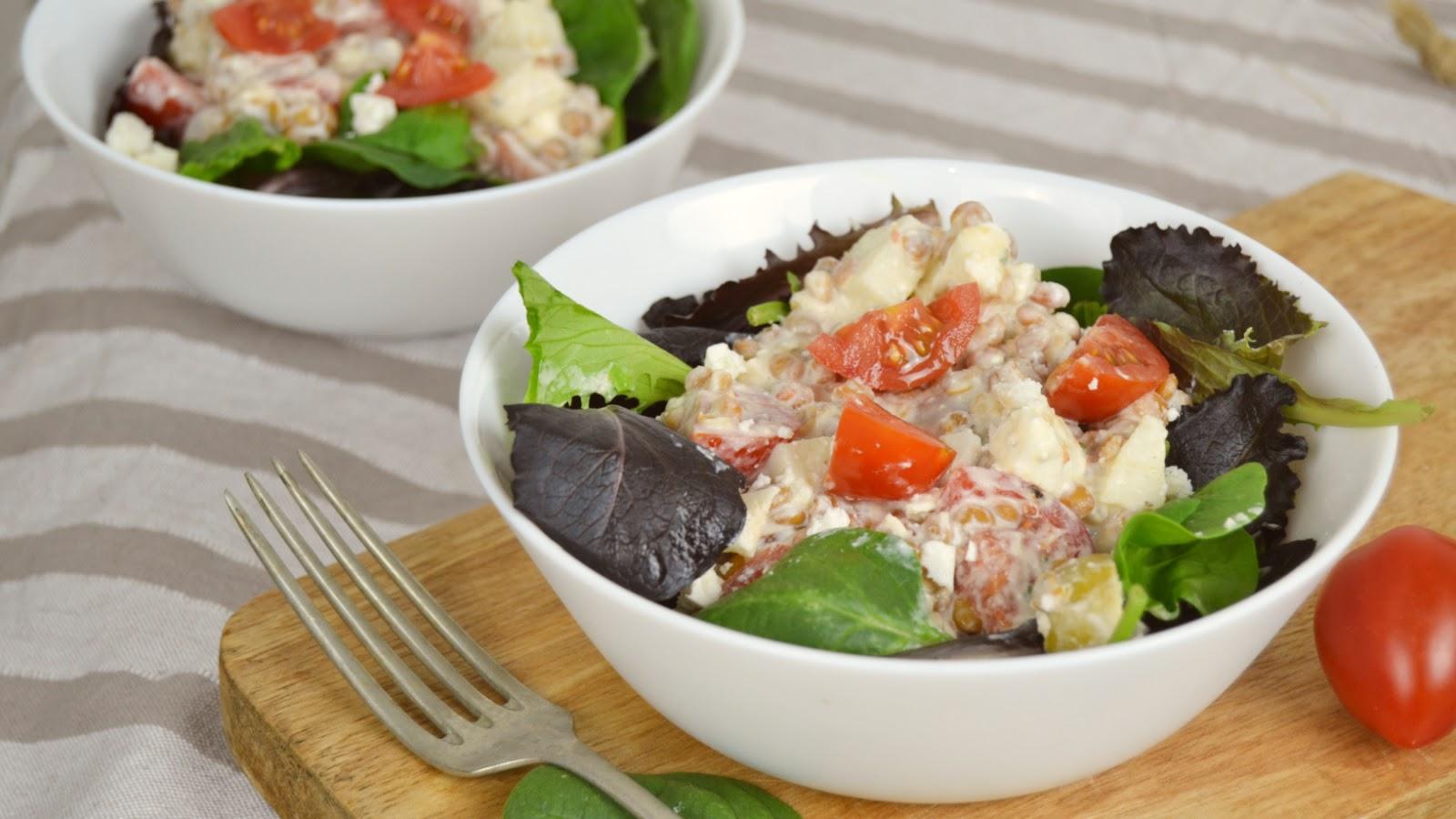 Recetas de cocina ensaladas con lentejas