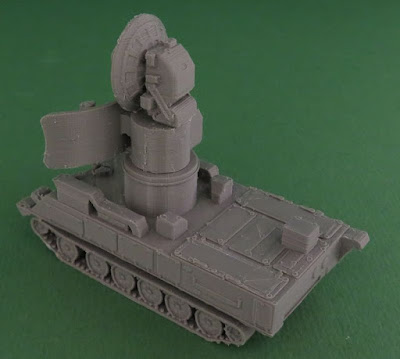 Soviet 1S91 or Straight Flush Radar Vehicle picture 4
