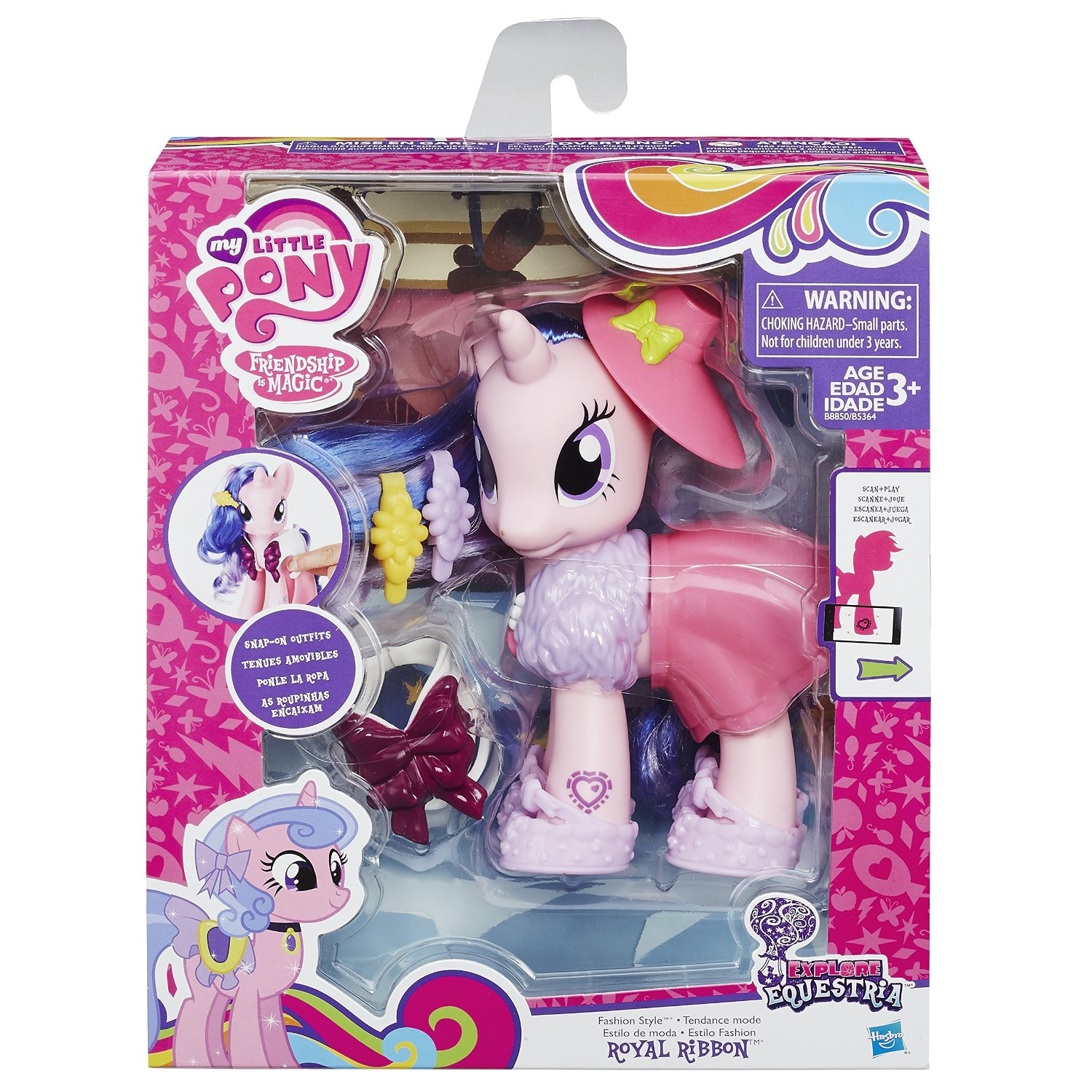 Images Of New Explore Equestria Brushables Found On Amazon