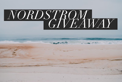 Enter the September $100 Nordstrom Gift Card Giveaway. Ends 10/8 Open WW