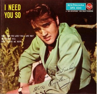 60'S ELVIS PRESLEY RARE EP [ONLY 2,000 COPIES ON EARTH]