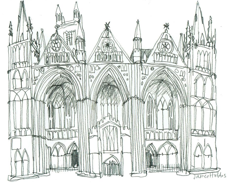 Peterborough Cathedral Returns Urban Sketchers