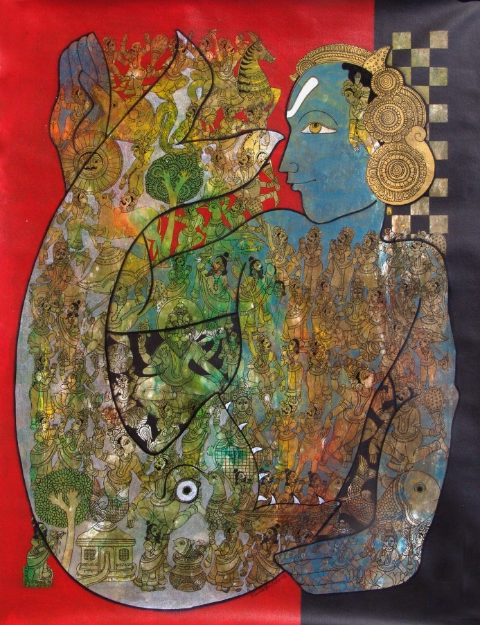 Pinturas do Indiano Ramesh Gorjala