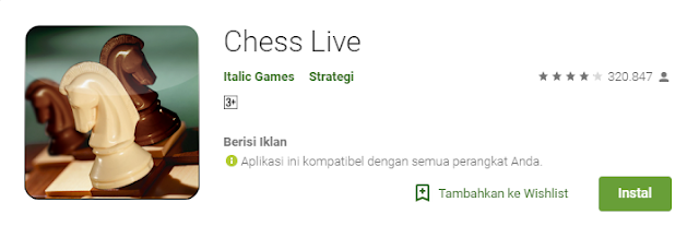 Game Strategi Android Terbaik ChessLive