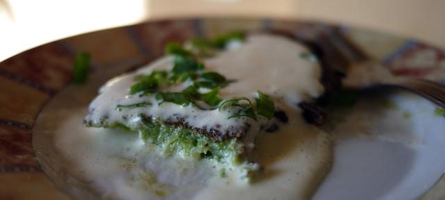 Pyszne, domowe placuchy z brokułem