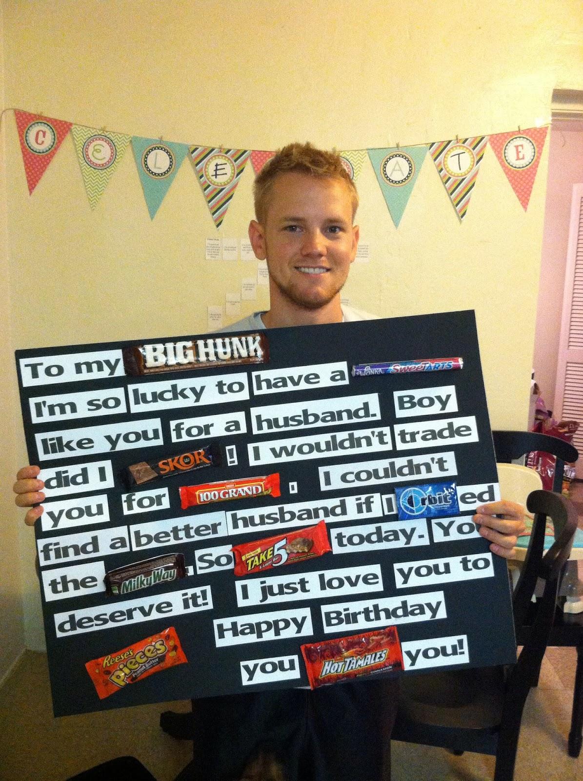 25th Birthday Gift Ideas For Him DIY