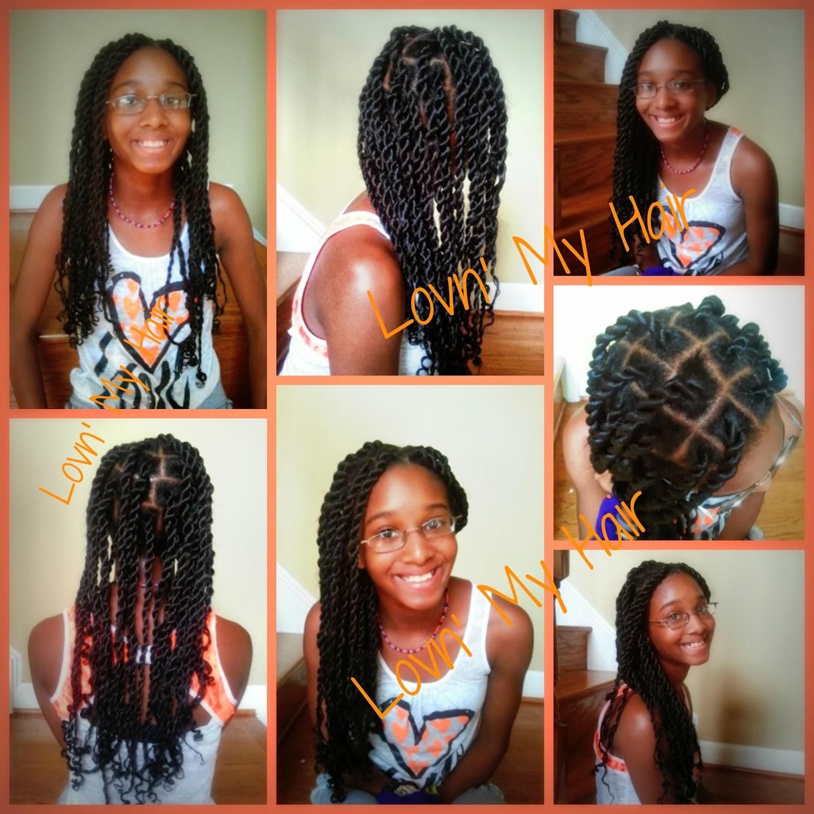 LOVN' MY HAIR: Rope Twist
