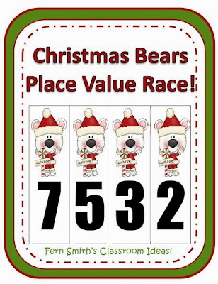 http://www.teacherspayteachers.com/Product/Fern-Smiths-Christmas-Bears-Place-Value-Race-Game-415658