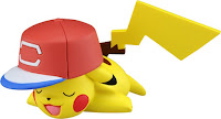 Pikachu alola cap figure Takara Tomy Monster Collection MONCOLLE EMC series