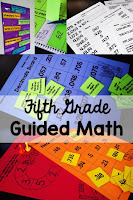 Fifth Grade Guided Math lesson plans, centers, assessments, and more. Everything you need to run small group math in your 5th grade classroom!
