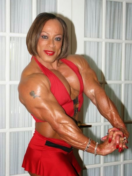 Professional Bodybuilding Champion ROSEMARY JENNINGS - The