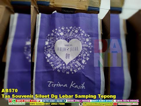jual Tas Souvenir Siluet Dg Lebar Samping Tepong