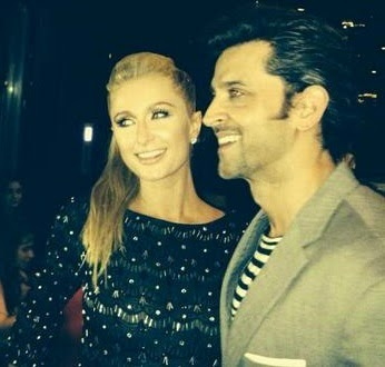 Hrithik Roshan and  Paris Hilton Dating in Dubai