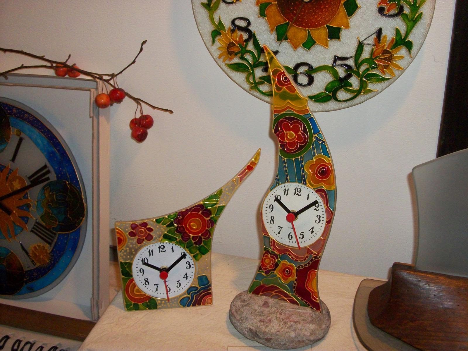 PICCOLI OROLOGI DA PARETE E DA TAVOLO - Little wall clocks and table clocks