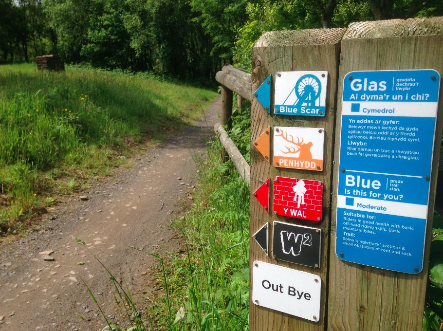 FitBits | Mountain biking in Wales | Afan Forest Park