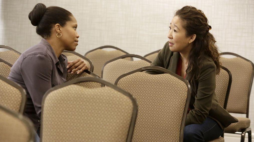 Regina King y Sandra Oh en 'American Crime'