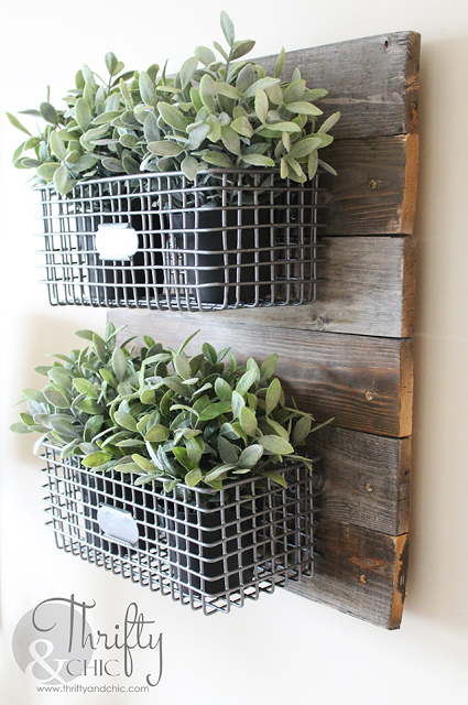farmhouse plant display, diy, farmhouse