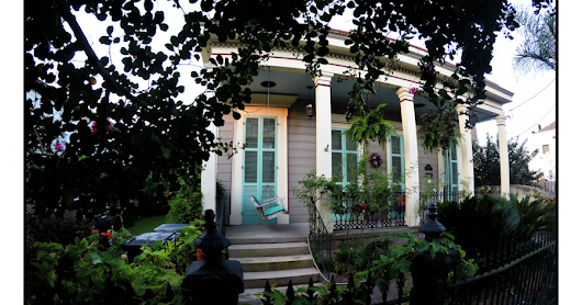 My Life in the Quarter: Teal Shutters | New Orleans Sites and Sights