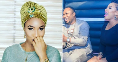 Tonto Dikeh throws shade at her husband with reference to a frog