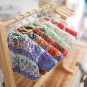 ♡ Sock Yarn Jackets...