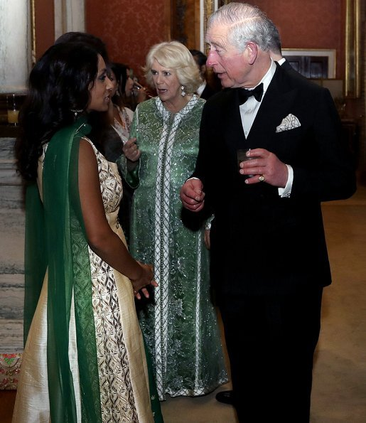 The Prince and The Duchess met BAT Ambassadors including model Neelam Gill and director Gurinda Chadha.