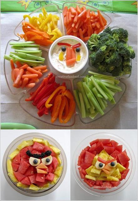 salad arrangement