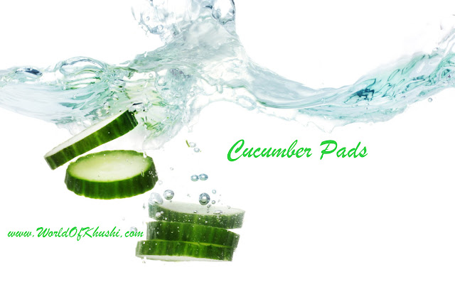 Cucumber Eyes Pads - Khushi's World