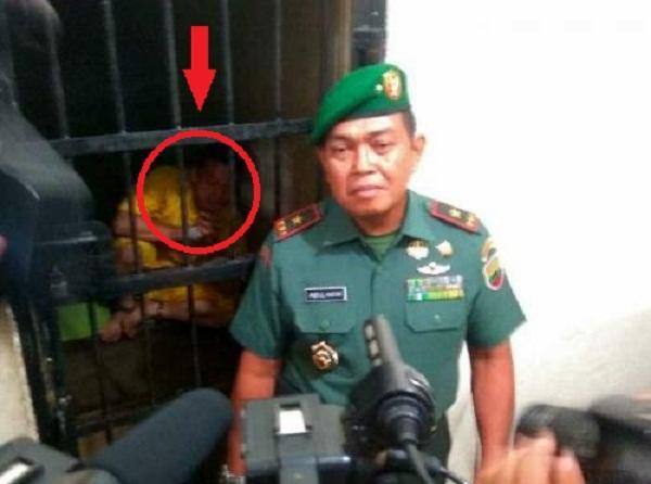 Oknum TNI yang Pukul Polisi Diborgol dan Dirantai di Tahanan