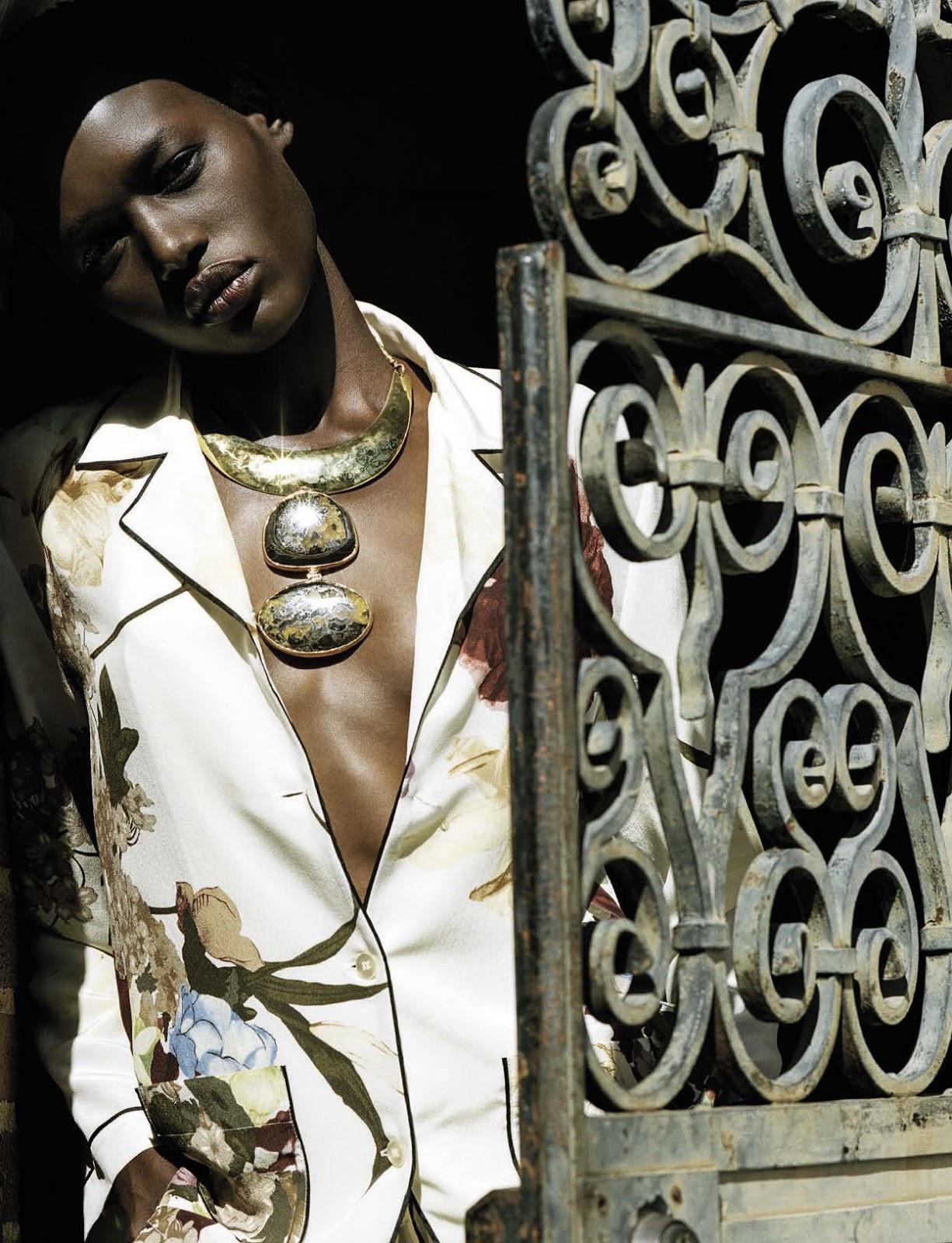 Models of Color: Vogue Italia April 2016: Bruce Weber