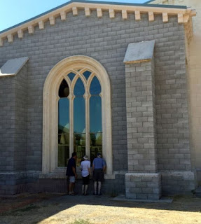 Reconstructed 800 yr old church from Spain in N Calif
