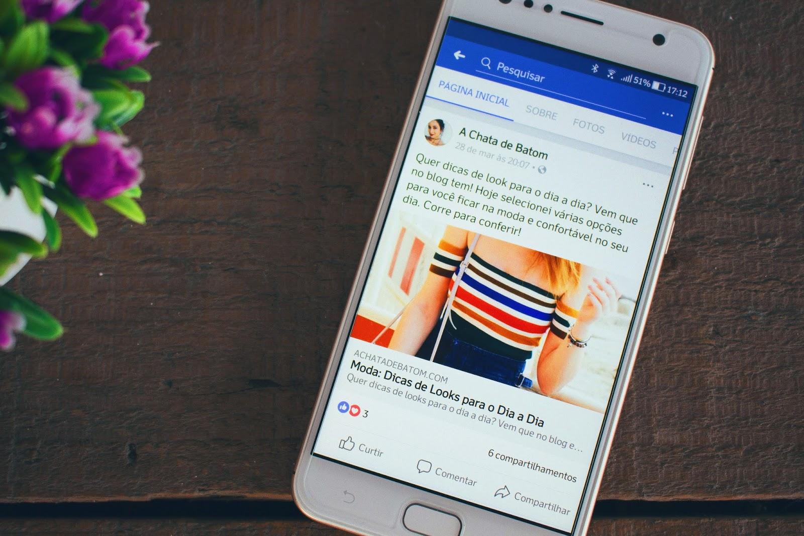 Já Curtiu o A Chata de Batom no Facebook?