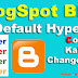 Blogger Me Default hyperlink color kaise change kare