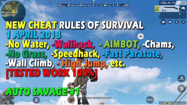Cheat Rules of Survival Treonin 9.0 Update 1 April 2018