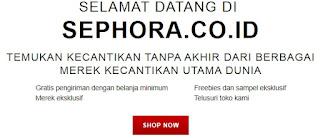 Ritel Kecantikan Online dengan Produk Terlengkap